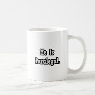 Ich bin Rechtsassistent Kaffeetasse