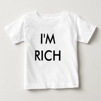 Ich bin REICH Baby T-shirt