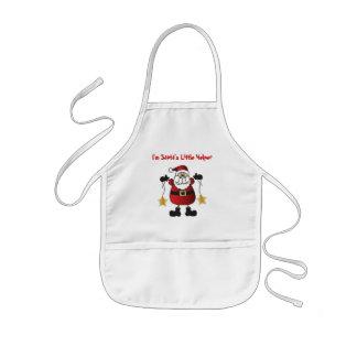 Ich bin Sankt kleiner Helfer | Weihnachtsmann Kinderschürze