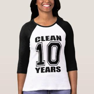 Ich bin saubere 10 Jahre! T-Shirt