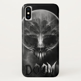 Ich bin Schicksals-Fraktal-Schädel iPhone X Hülle