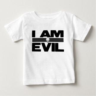 Ich bin schlecht baby t-shirt