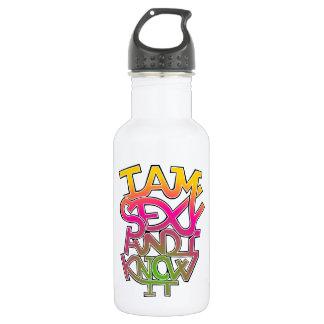 Ich bin sexy und ich kenne es - Graffiti Trinkflasche
