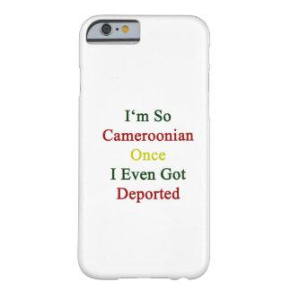 Ich bin so kamerunisch, sobald ich sogar verbannt barely there iPhone 6 hülle