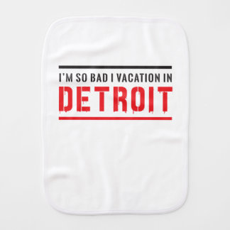 Ich bin so schlechte i-Ferien in Detroit Spucktuch