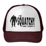 Ich bin Squatchy… und ich kenne es! Truckercap