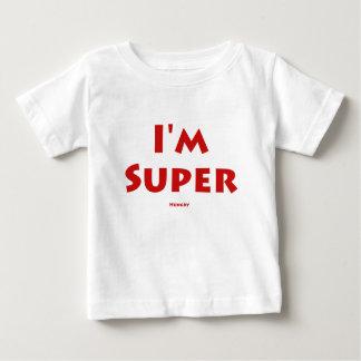 Ich bin Super…. Hungrig Baby T-shirt