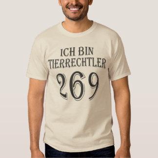 Ich bin Tierrechtler - 269 - 01m Shirt