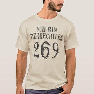 Ich bin Tierrechtler - 269 - 01m T-Shirt