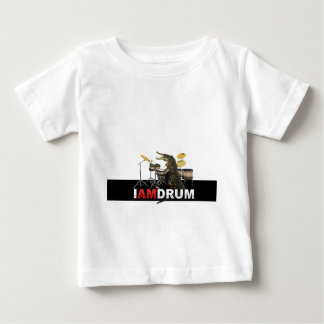Ich bin Trommelkrokodil Baby T-shirt