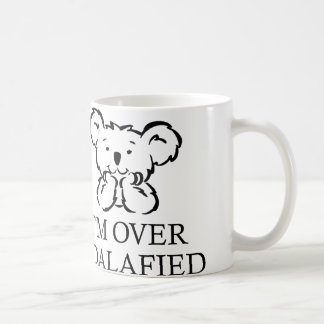 Ich bin über Koalafied Kaffeetassen