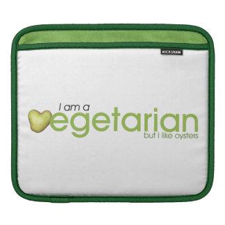 Ich bin vegetarisch, aber ich mag Austern - Ipad Sleeve Für iPads