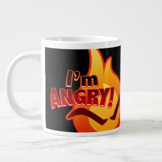 Ich bin verärgert! Riesige Tasse