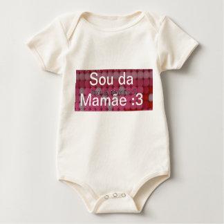 Ich bin von der Mama Baby Strampler
