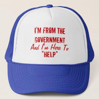 """Ich bin von der Regierung und ich bin hier """"zu Truckerkappe"""