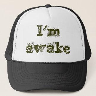 Ich bin wach truckerkappe