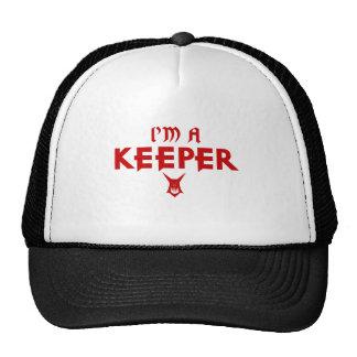 Ich bin Wächter a (Kerker) Baseball Kappe
