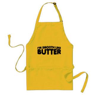 Ich bin wie Butter glatt Schürze