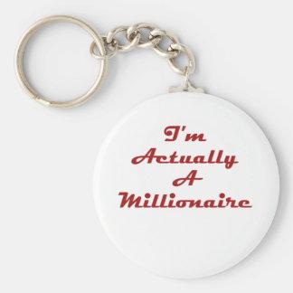 Ich bin wirklich ein Millionär Schlüsselanhänger