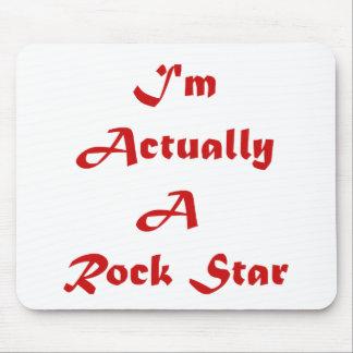 Ich bin wirklich ein Rockstar Mousepad