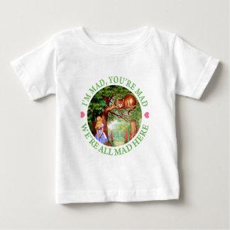 Ich bin wütend, Sie bin wütend, wir bin alle Baby T-shirt
