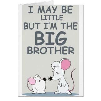 Ich bin zwar wenig, aber ich bin der große Bruder Karten