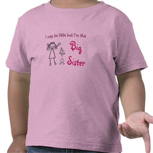 Ich bin zwar wenig, aber ich bin die große Schwest Hemden
