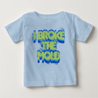 Ich brach das Form-Säuglings-Shirt Baby T-shirt