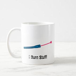 Ich brenne Material Kaffeetasse