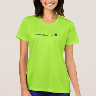 Ich bringe InnenPickleball trockenen Wicking T-Shirt