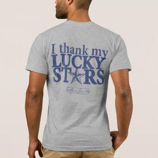 Ich danke der T - Shirt-Rückseite meiner T-Shirt