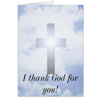 Ich danke Gott für Sie Karte