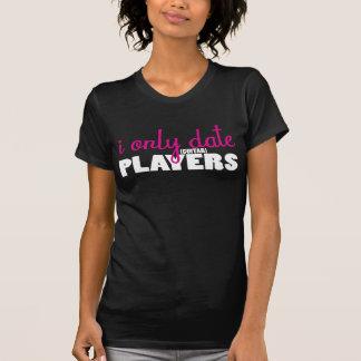 Ich datiere nur Gitarristen Grafik-T-Stück T-Shirt