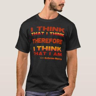 Ich denke deshalb T-Shirt