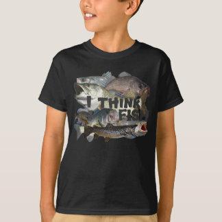 Ich denke Fische T-Shirt