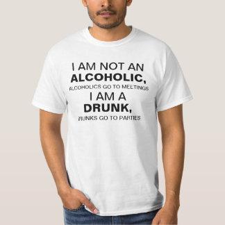 Ich der Männer bin nicht ein Alkoholiker, Hemd