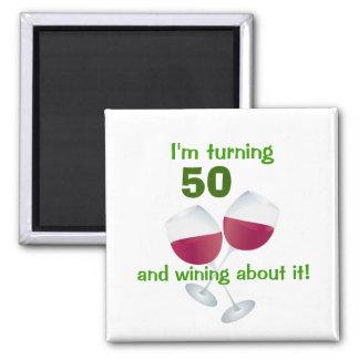 Ich drehe 50 und wining über es Magnet