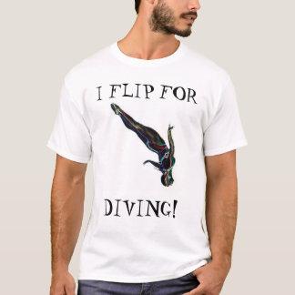 Ich drehe für das Tauchen um T-Shirt