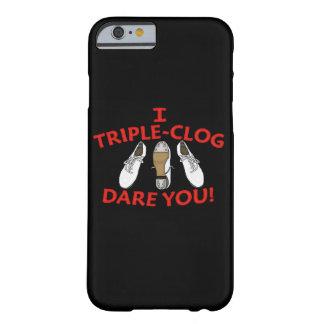 Ich Dreifach-Klotz Herausforderung Sie verstopfend Barely There iPhone 6 Hülle