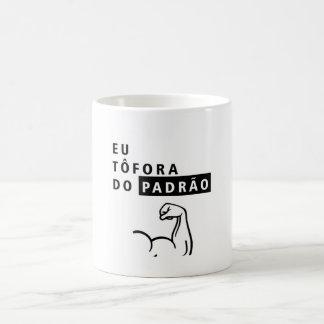 Ich du des Standards der Becher des Porzellans Kaffeetasse