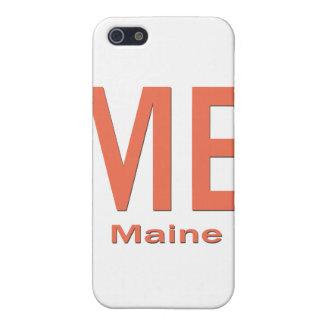 ICH einfache Orange Maines iPhone 5 Etui