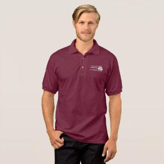 """""""Ich entdeckte das Jersey-Shirt der Kaffee-"""" Polo Shirt"""