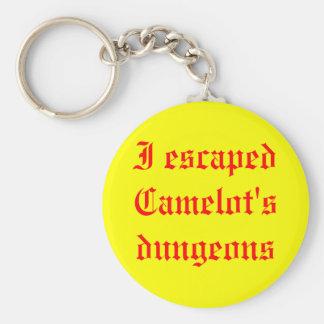 Ich entging Camelots Kerkern Standard Runder Schlüsselanhänger