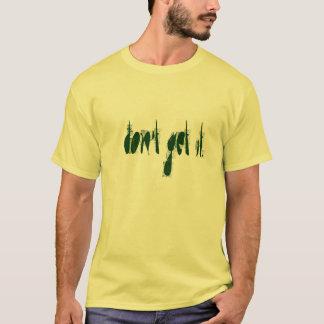 Ich erhalte es nicht. (Limones Grün auf T-Shirt