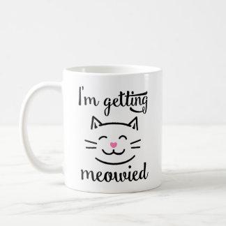 Ich erhalte Meowied Verlobung Tasse