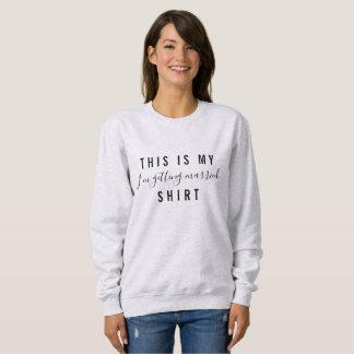 Ich erhalte verheiratetes Shirt-Hochzeits-Shirt Sweatshirt