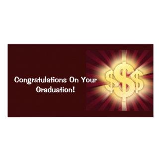 Ich erhielt Bling! - Geld-Karte für Absolvent Individuelle Foto Karten