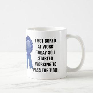 Ich erhielt heute bei der Arbeit gebohrt, also Kaffeetasse