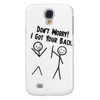 Ich erhielt Ihre Rückseite - sorgen Sie sich nicht Galaxy S4 Hülle