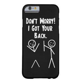 Ich erhielt Ihren hinteren iPhone 6 Fall Barely There iPhone 6 Hülle